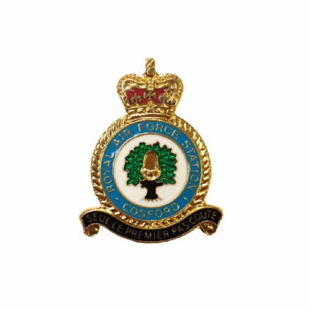Royal Air Force RAF Station Cosford Lapel Badge